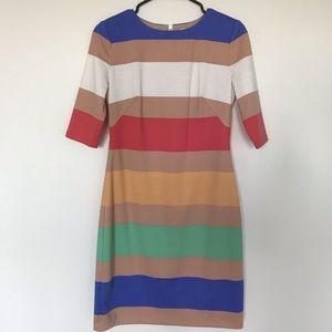 Jessica Simpson multicolor stripe dress - Size 4